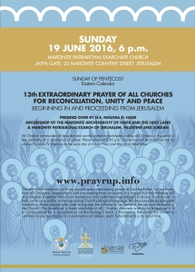 Flyer EP 19 June 2016 Maronite Church